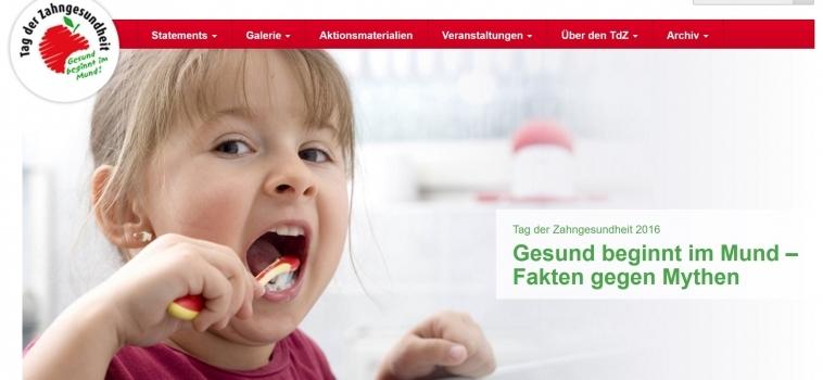 Tag der Zahngesundheit 2016